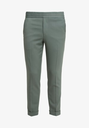 TERRY CROPPED PANTS - Trousers - platoone