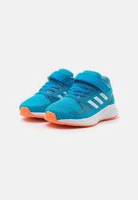 adidas Performance - RUNFALCON 2.0 UNISEX - Neutral running shoes - solar blue/footwear white/hazy blue - 1