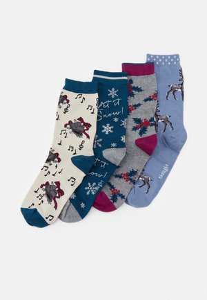 CAROLE SOCK GIFT BOX 4 PACK - Socks - multi