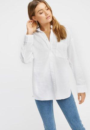 MONACO - Button-down blouse - blanc