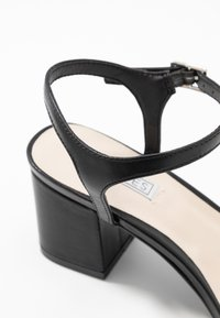 Nly by Nelly - SQUARE BLOCK HEEL  - Sandály - black - 2