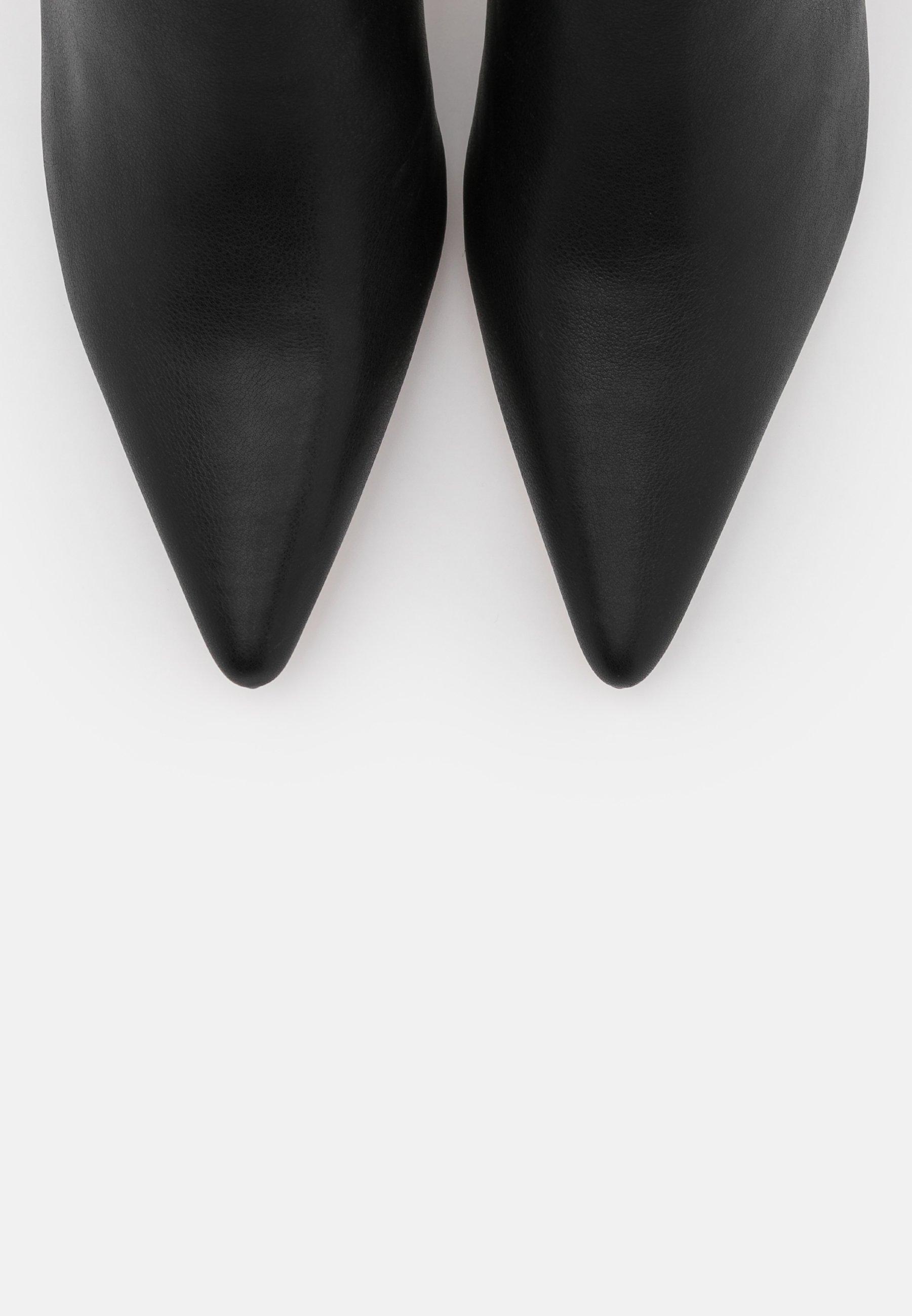 NA KD BOOTS Klassiska stövlar black Zalando.se