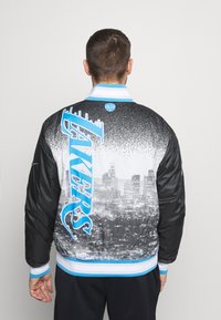 Nike Performance - NBA LOS ANGELES LAKERS CITY EDITION JACKET - Club wear - black/coast - 2