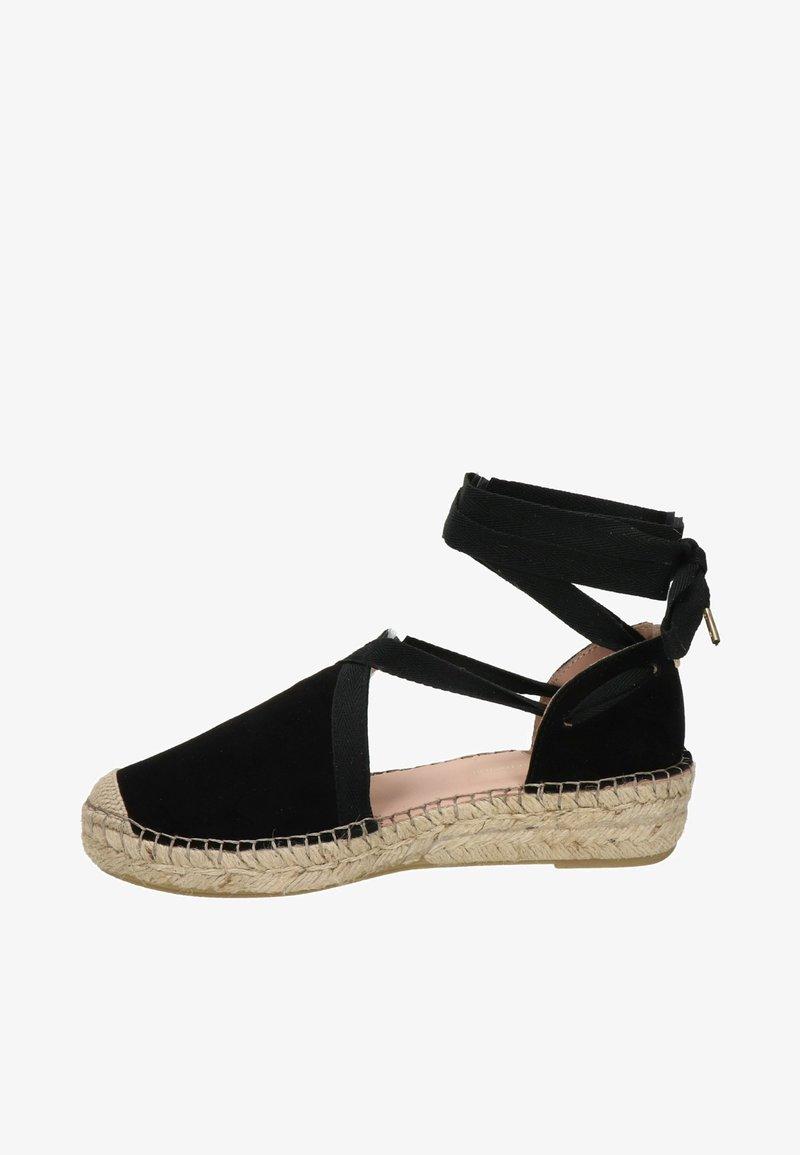 Fred de la Bretoniere - Sandalen met sleehak - zwart