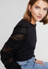 ONLY - ONLCLOVER - Sweatshirt - black - 4