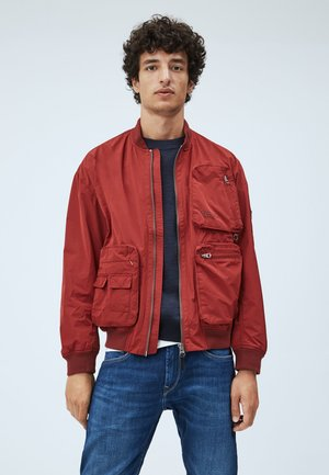 ANDY - Bomber Jacket - merlot
