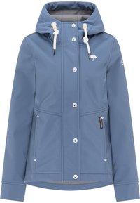 Schmuddelwedda - Soft shell jacket - graublau - 2