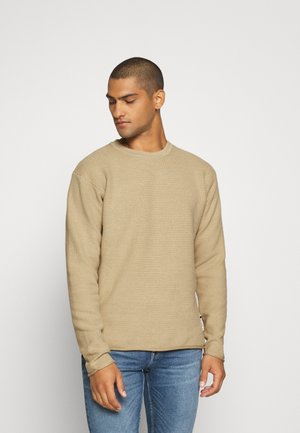 SLIGHTLY OVERSIZED ISLAND  - Jumper - natural cloth
