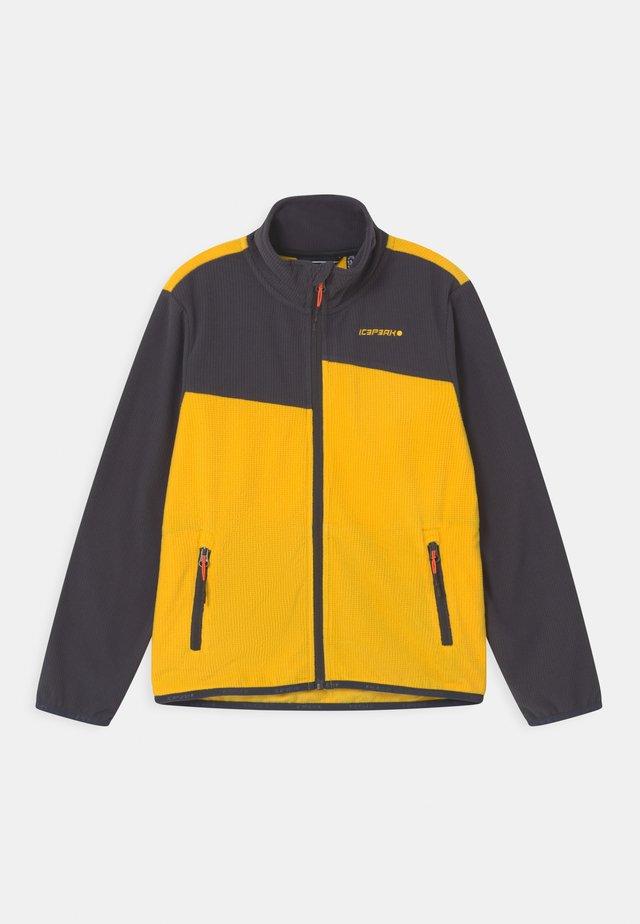 KENTWOOD UNISEX - Fleece jacket - yellow