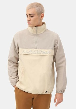 ZIPPER POYDRAS - Windbreaker - light taupe