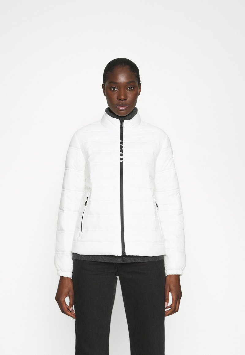 Replay - OUTERWEAR - Light jacket - butter white
