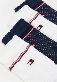 Tommy Hilfiger - BABY KNEEHIGH GIRLS ZIG ZAG 4 PACK - Kniekousen - blue - 1