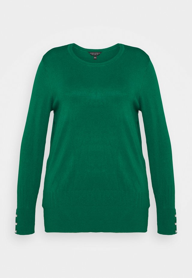 FOREST CUFF CREW NECK JUMPER - Pullover - green