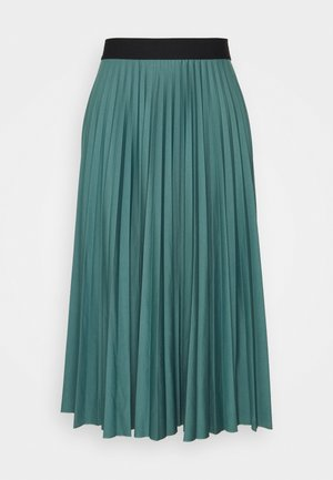 PLISEE SKIRT - Pleated skirt - teal blue
