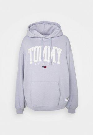 COLLEGIATE HOODIE - Sweatshirt - lovely lavender
