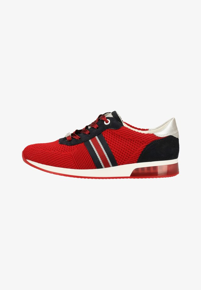 Sneakers laag - red/silver/blue