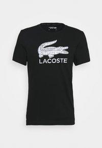 BIG LOGO - Print T-shirt - black/white