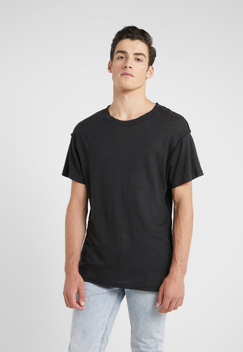 Iro - JURUS - Basic T-shirt - black