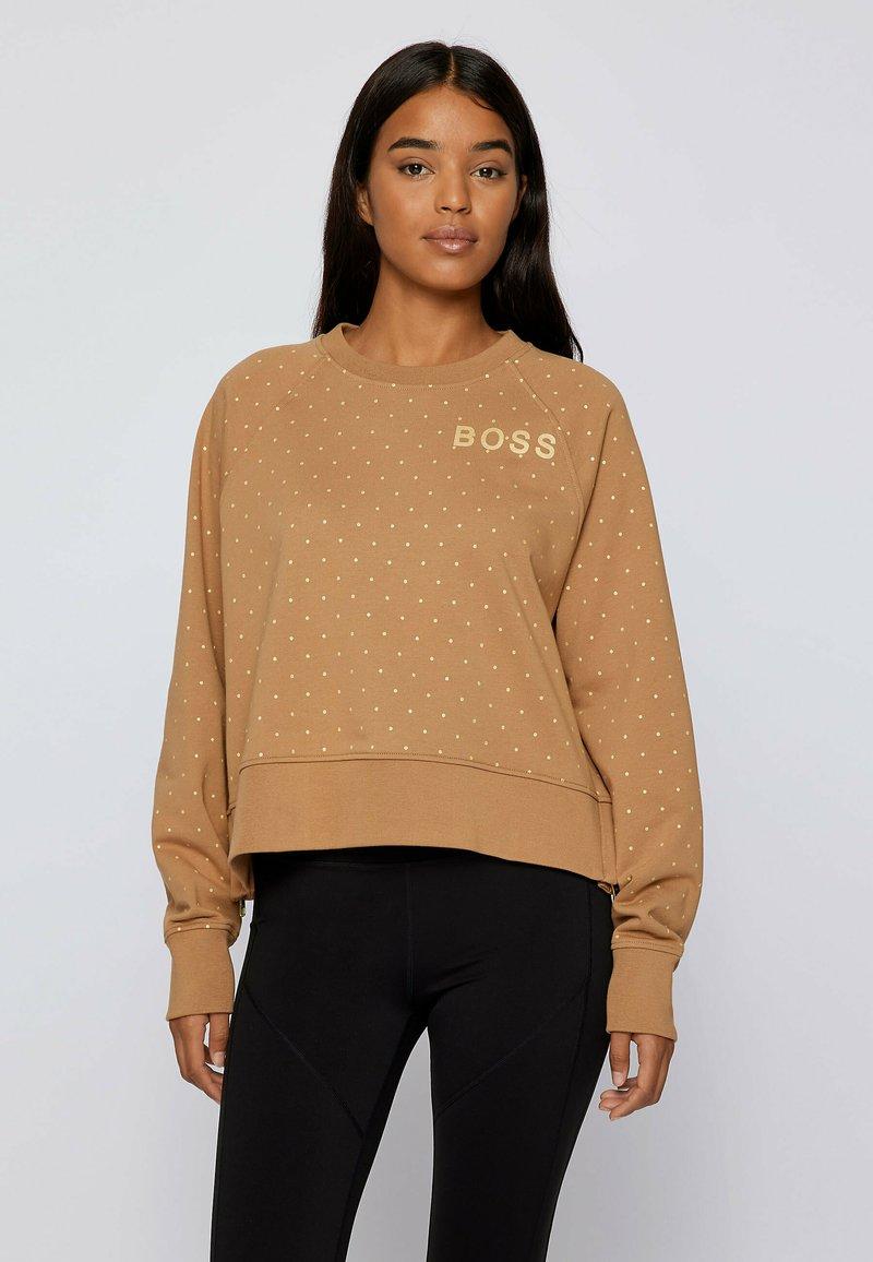 BOSS - C ELIA GOLD ZAL - Sweatshirt - patterned