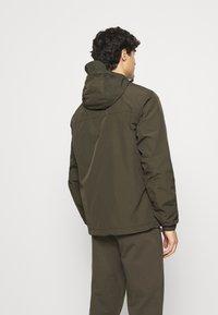 Lyle & Scott - HOODED POCKET JACKET - Waterproof jacket - trek green - 2