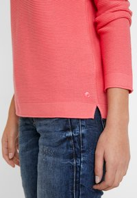 TOM TAILOR - SWEATER NEW OTTOMAN - Jumper - charming pink - 6