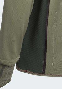 adidas Performance - PRIME COLD.RDY TOP CREW SWEATSHIRT - Sudadera - green - 8