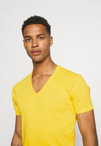 G-Star - BASE 2 PACK - T-shirt - bas - yellow cab - 3