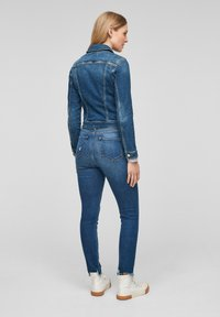s.Oliver - LANGARM - Spijkerjas - medium blue - 2