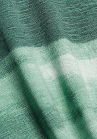 Esprit - FASHION SLUB - Print T-shirt - teal green - 8