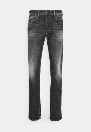 GROVER - Straight leg -farkut - dark grey