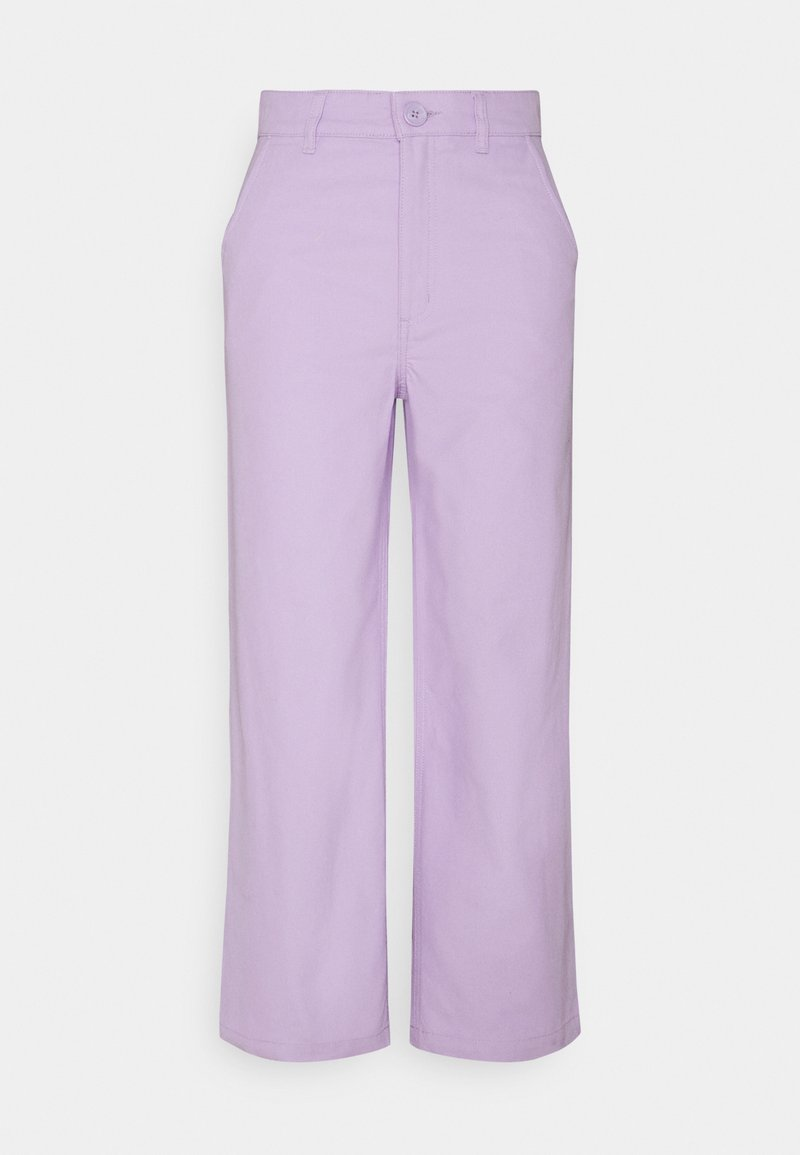 Monki - MABEL TROUSERS - Bukse - lilac