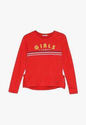 LINDI - Camiseta de manga larga - vermelho