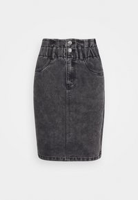 ONLY Petite - ONLMILLIE LIFE SKIRT - Pencil skirt - grey - 0