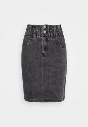 ONLMILLIE LIFE SKIRT - Pencil skirt - grey