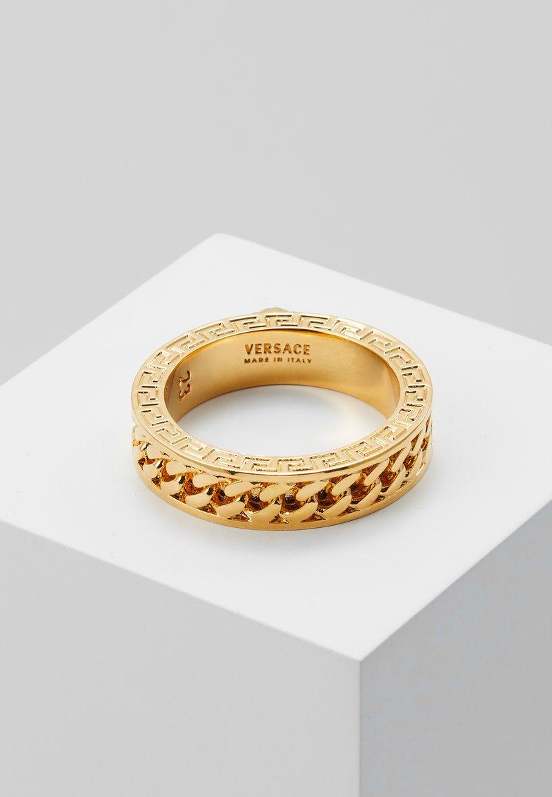 Versace - Anillo - oro caldo