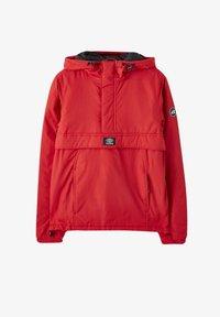 PULL&BEAR - Zimní bunda - red - 6