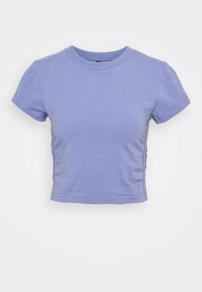 Cotton On Body - SIDE GATHERED - Camiseta básica - periwinkle