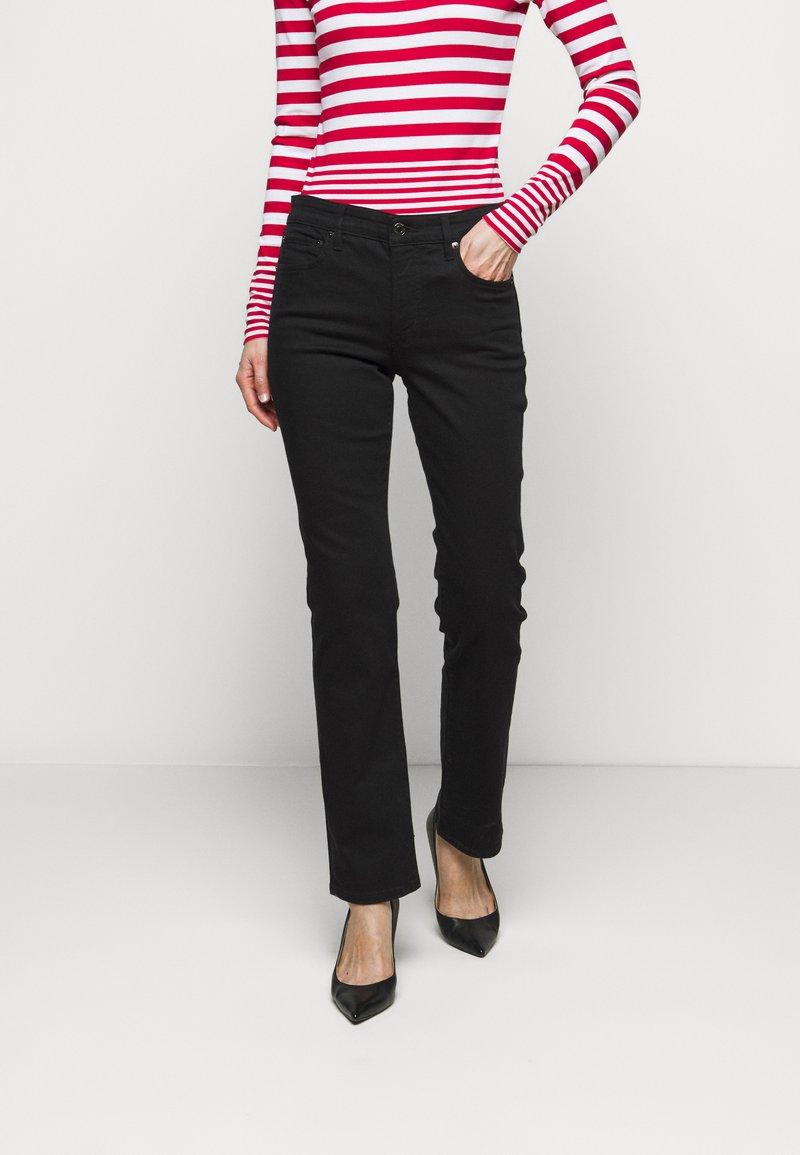 Lauren Ralph Lauren - Straight leg jeans - black
