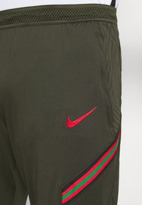 Nike Performance - PORTUGAL DRY PANT  - Träningsbyxor - sequoia/sport red - 5