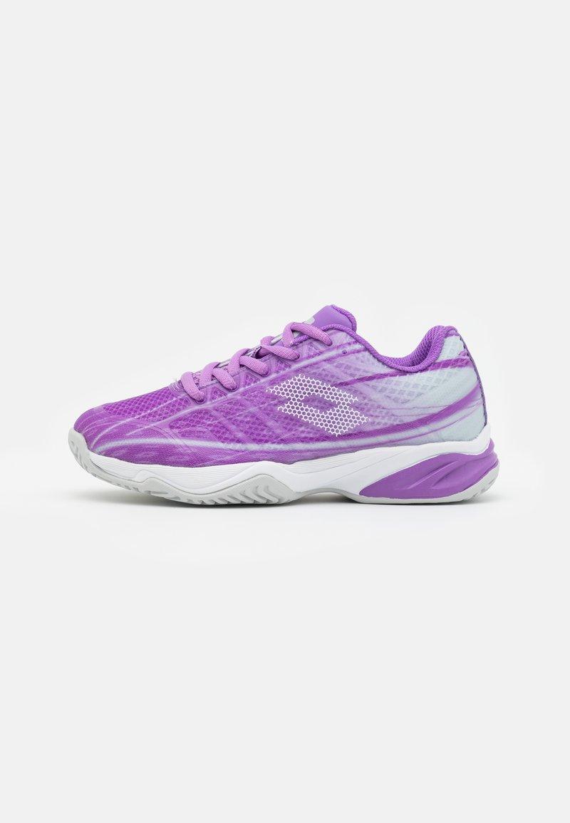 Lotto - MIRAGE 300 JR UNISEX - Multicourt tennis shoes - charisma violet/funky pink/purple willow