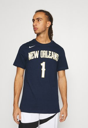 NBA NEW ORLEANS PELICANS ZION WILLIAMSON ASSOCIATION - Print T-shirt - college navy