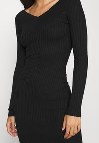 Even&Odd - JUMPER DRESS - Etuikjole - black - 5