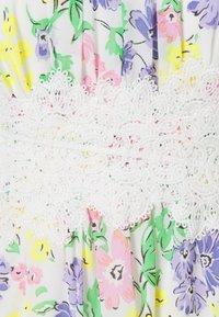 VILA PETITE - VIMILINA FLOWER DRESS PETITE - Day dress - snow white - 2
