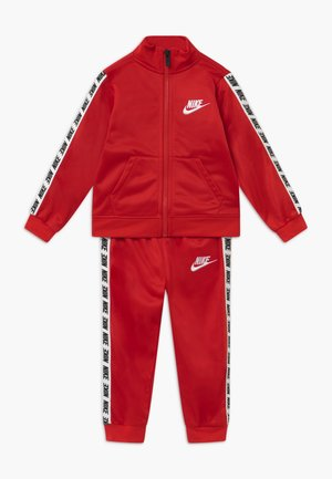 BLOCK TAPING TRICOT BABY SET - Trainingspak - university red