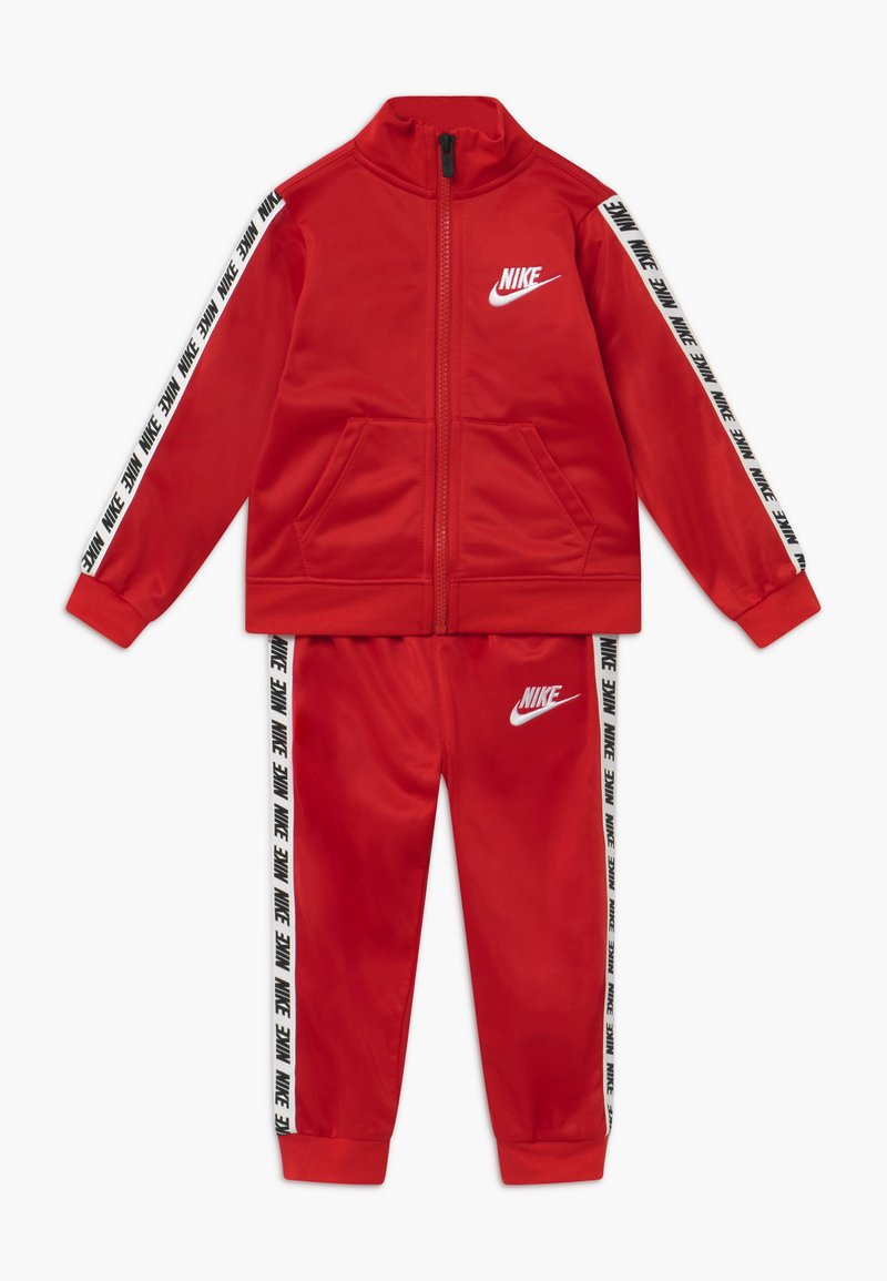 Nike Sportswear - BLOCK TAPING TRICOT BABY SET - Tracksuit - university red