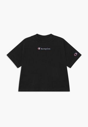 ROCHESTER LOGO CREWNECK - T-shirt med print - black