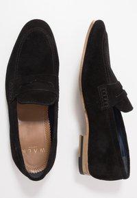 Walk London - DANNY PENNY LOAFER - Scarpe senza lacci - black - 1
