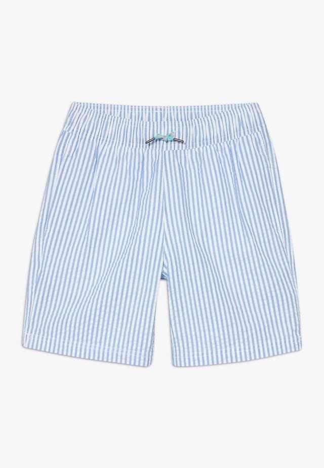 SEERSUCKER TRUNK - Shorts da mare - sail blue
