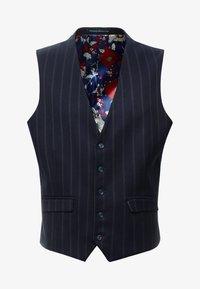 1904 - SCOTT  - Suit waistcoat - navy - 3