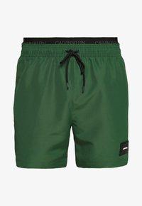 Calvin Klein Swimwear - MEDIUM DOUBLE - Surfshorts - green - 2